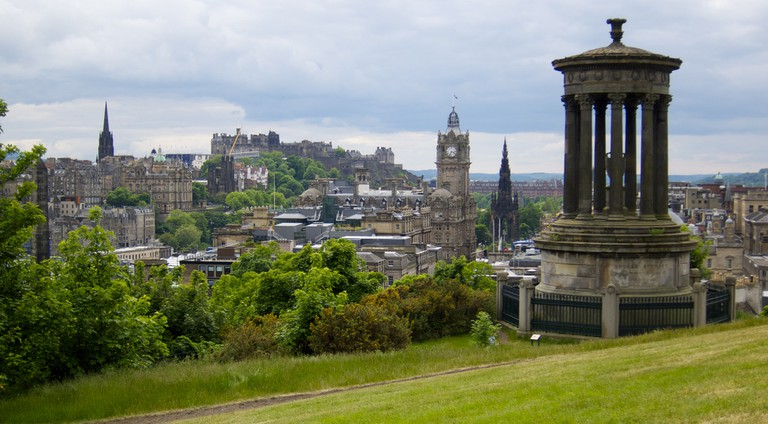 Edinburgh From Calton Hill | © jcookfisher/Flickr