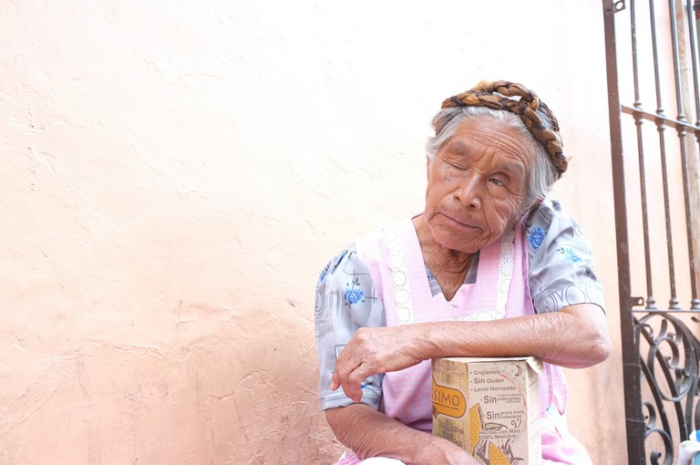Elderly lady in Oaxaca | © Oliver Wagner/Flickr