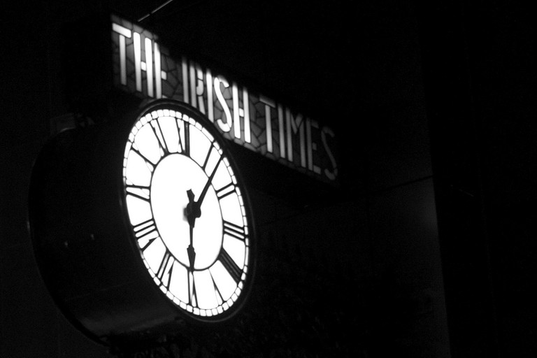 The Irish Times Clock | © Pierre (Rennes)/FlickrThe Irish Times Clock | © Pierre (Rennes)/Flickr