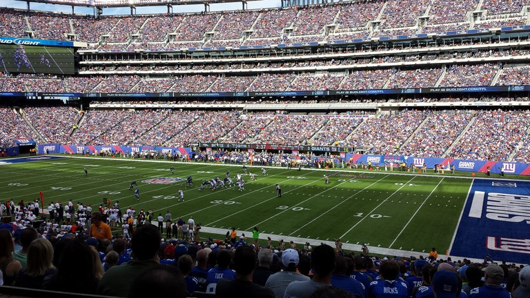 The New York Giants (above) share MetLife Stadium with the Jets | © Flickr/Barry Wise