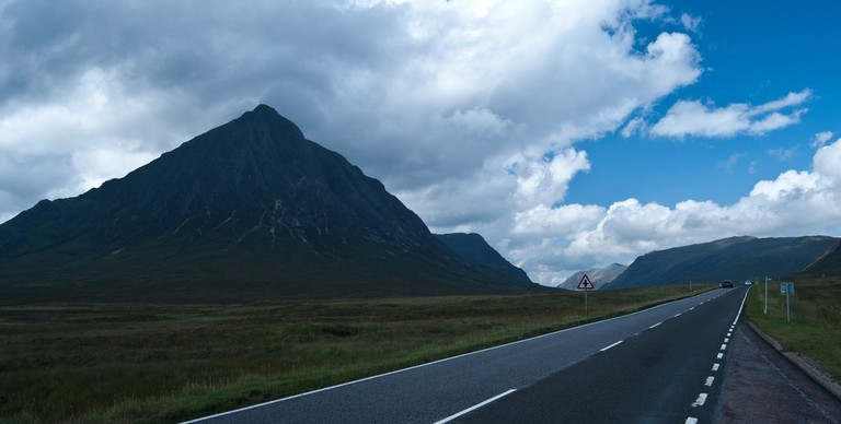 Buachille Etive More On The Left | © David Kusserow/Flickr