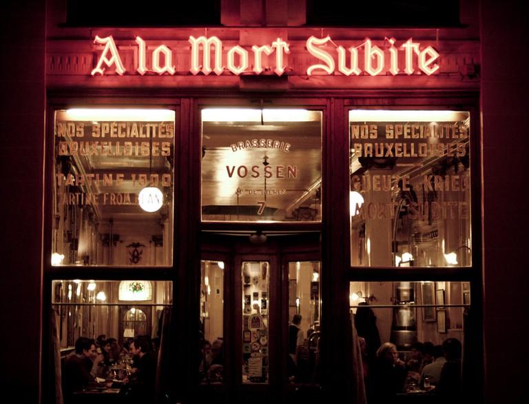 A La Mort Subite, a popular Brussels pub | © Alessandro Valli/Flickr