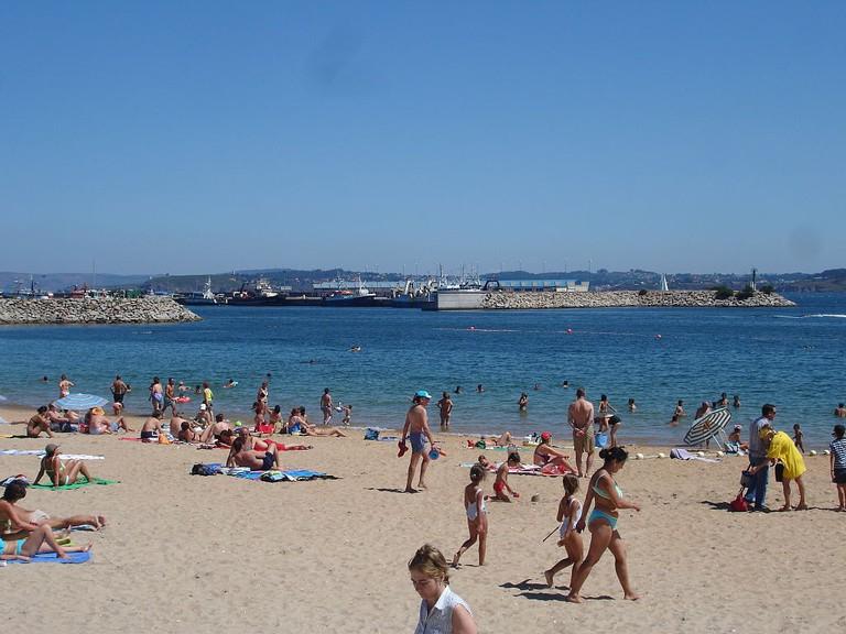 A Coruña beach | ©Juan Freire / Wikimedia Commons