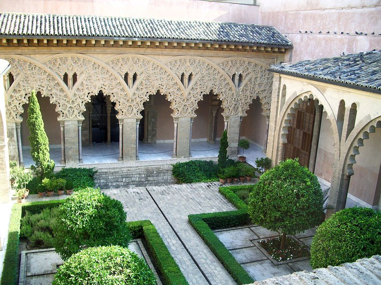 Aljaferia, Zaragoza | ©Escarlati / Wikimedia Commons