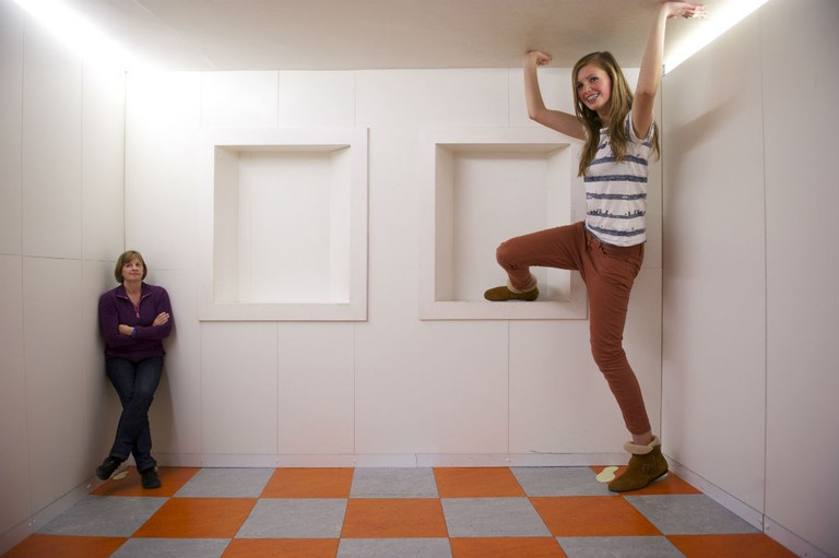 Ames Room | | Courtesy Of Camera Obscura
