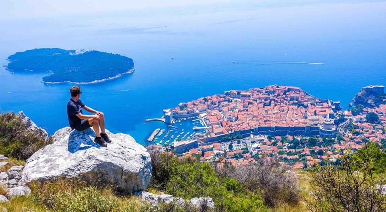 Bart in Dubrovnik