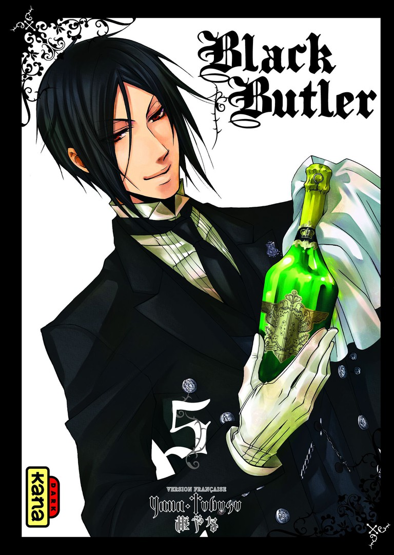 Black Butler by Yana Toboso | © Gangan Comics (English publisher: Yen Plus)