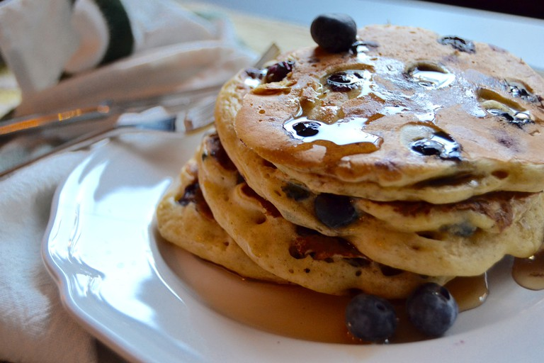Blueberry pancakes | Courtesy of Whyiamnotskinny