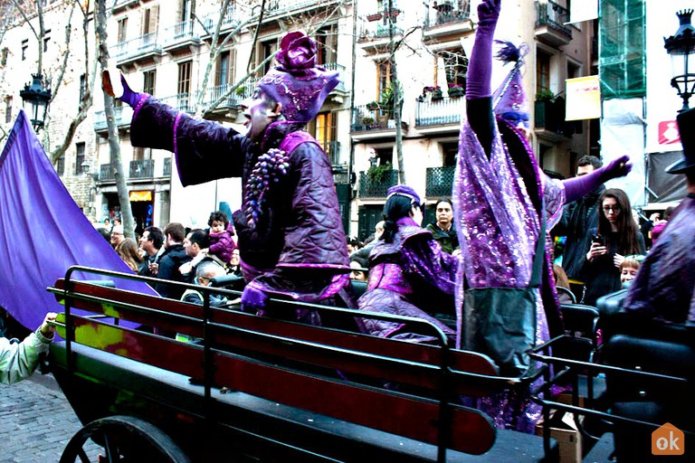 Carnaval, Barcelona | ©OK Apartment / Wikimedia Commons