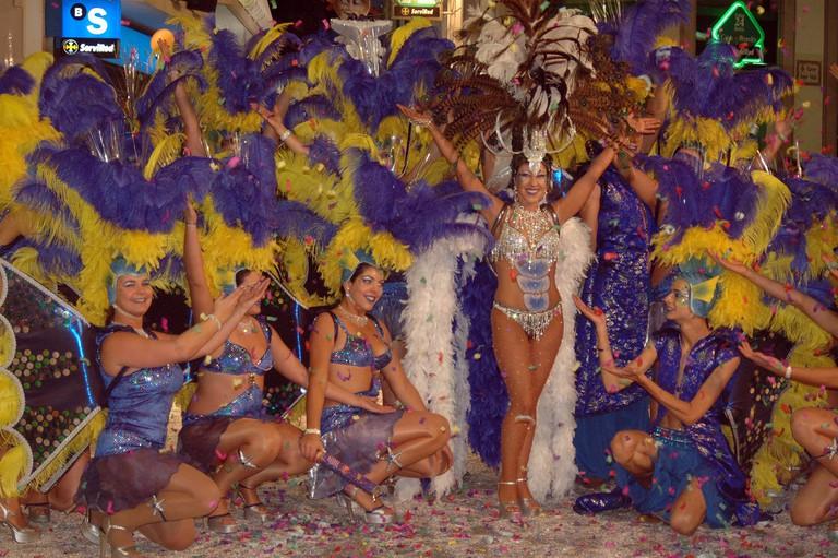 Carnaval, Sitges, Spain