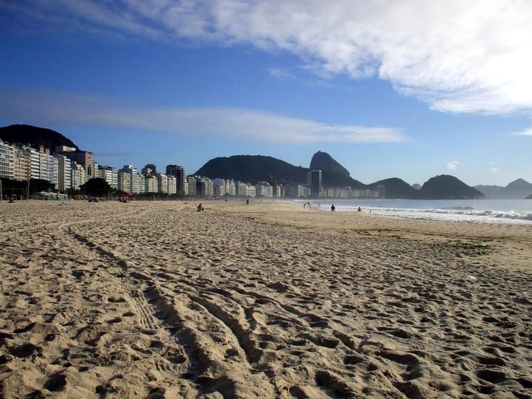 Copacabana beach   public domain