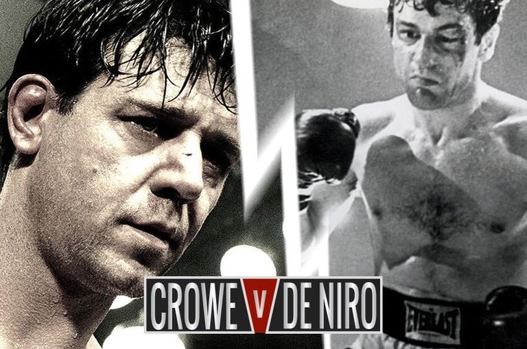 Russell Crowe in ' Cinderella Man' vs. Robert De Niro in 'Raging Bull'