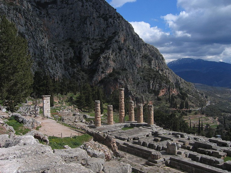 Delphi, Greece, in 2005