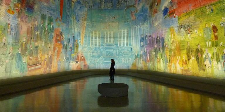 Exhibition at the Musée d'Art Moderne │© Hermann