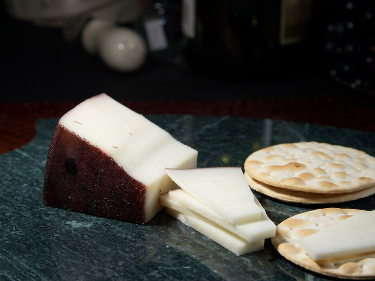 Dutch Goat's Cheese is generally quite hard