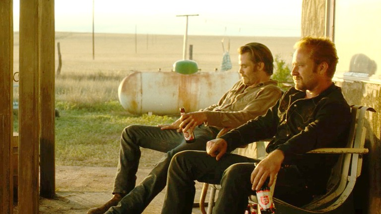 Ben Foster and Chris Pine in 'Hell Or High Water'
