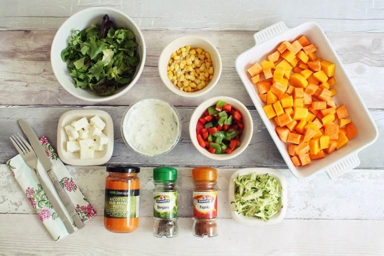 A Light Winter Warmer: Butternut Squash and Sweet Potato Salad