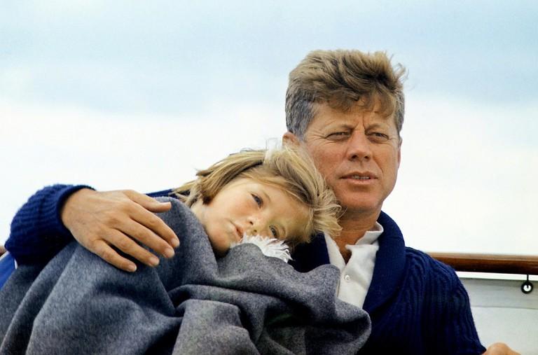 JFK and Caroline Kennedy / Pixabay