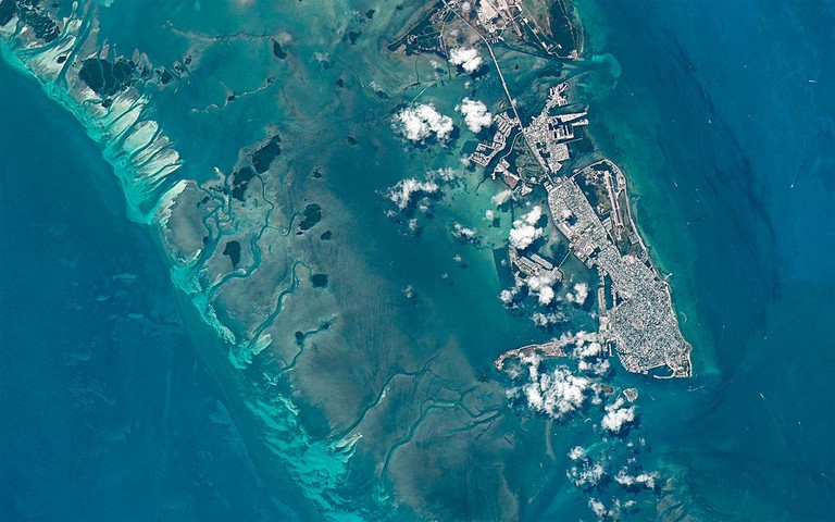 Key West, Florida, USA | © Axelspace Corporation/WikiCommons