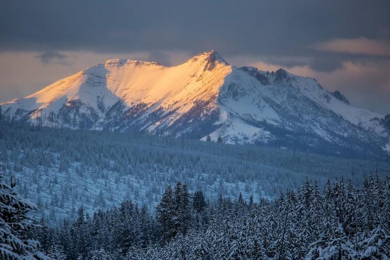 Yellowstone mountains | Public Domain/Pixabay