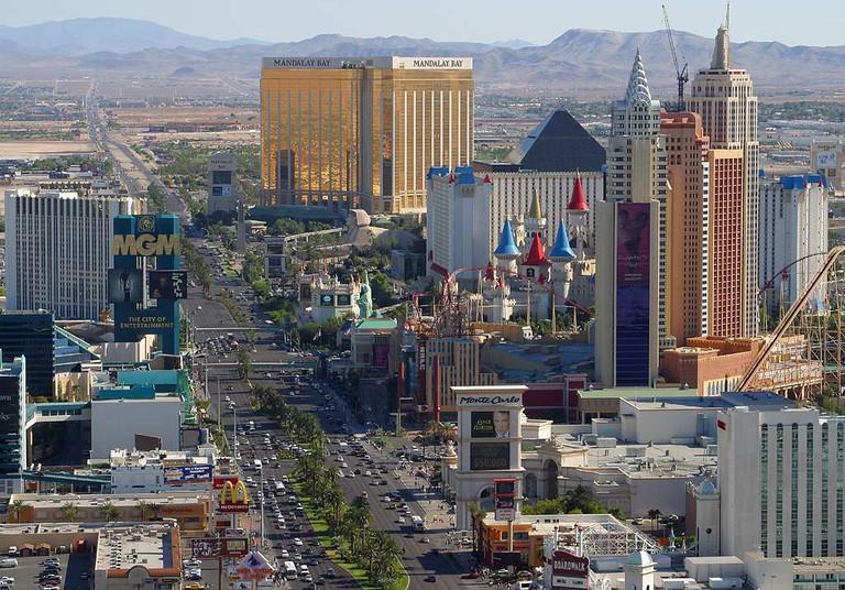 Las Vegas strip-2 | Public Domain/WikiCommons