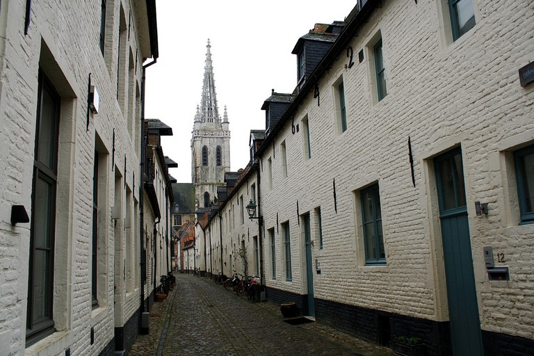 Leuven's small beguinage | © Jean & Nathalie/Flickr