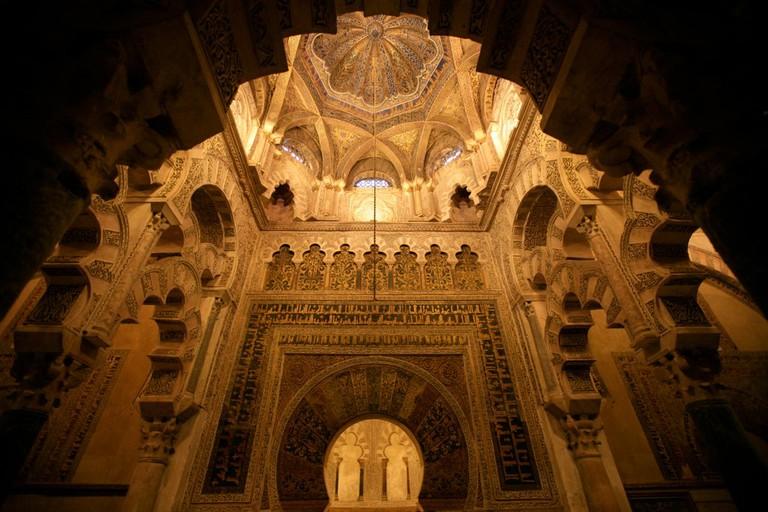 Interior of the Gran Mezquita de Córdoba
