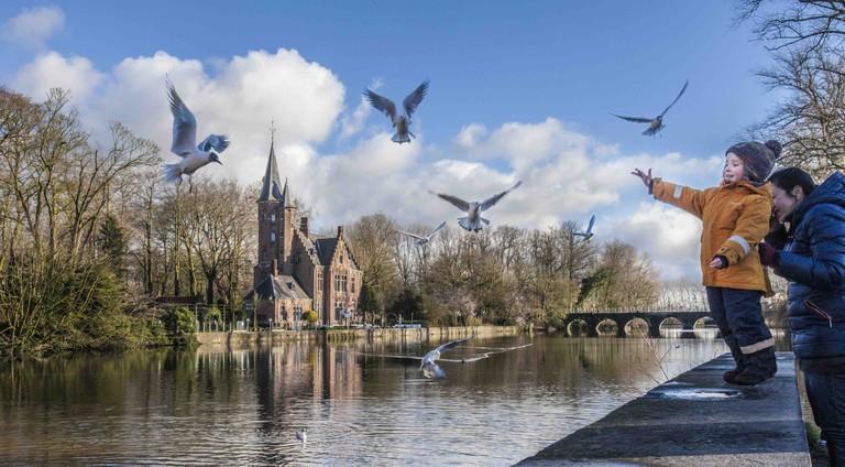 Minnewater | © Jan D'Hondt / courtesy of Toerisme Brugge