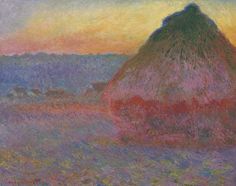Claude Monet, Grainstack in the Sunlight, 1891