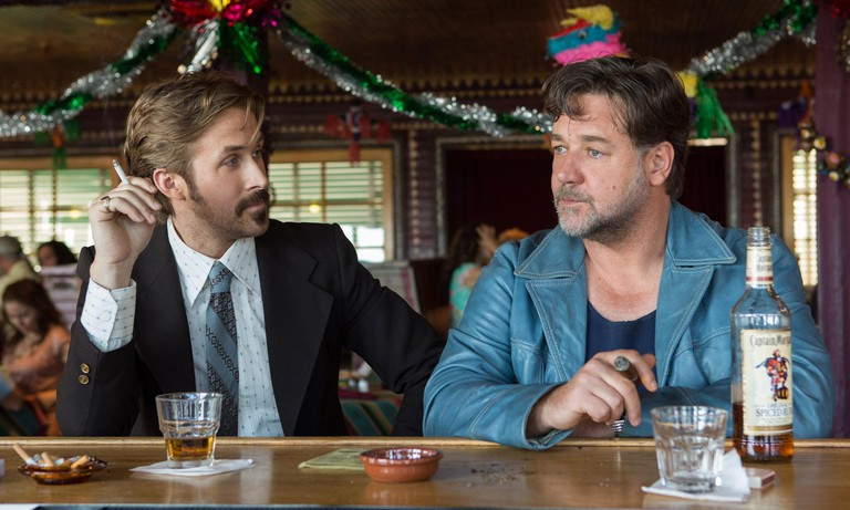 Ryan Gosling and Russell Crowe in 'The Nice Guys'
