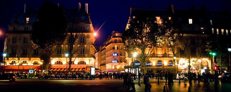 Nighttime in the Latin Quarter │© gadgetdude