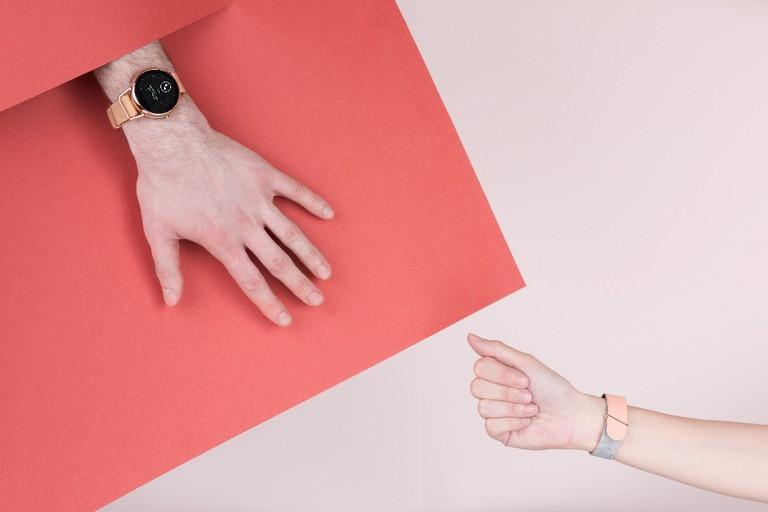 Nude smart watches by Shammane │ Courtesy of Shammane