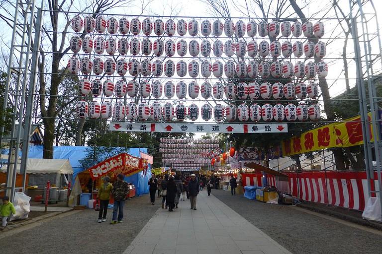 Okunitama Shrine | © Nesnad/WikiCommons