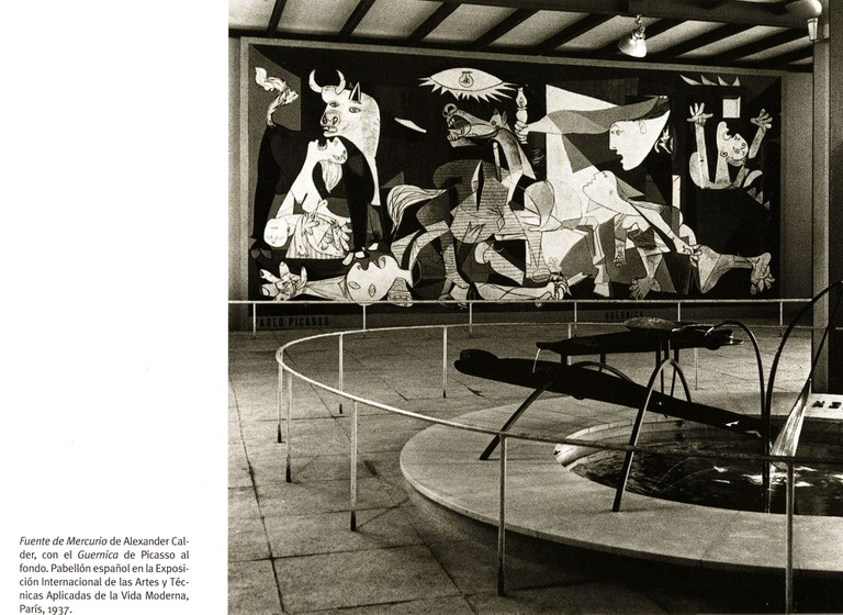 Pablo Picasso's Guernica at the Exposition Universelle in 1937 │© BIE