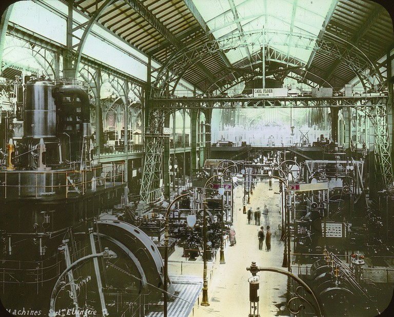 Palais Machines in 1900 │© BIE