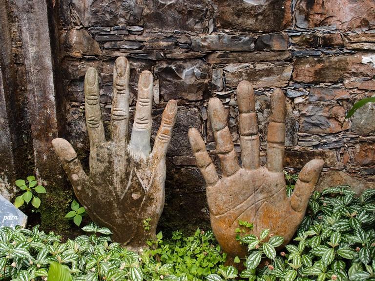 Hands   © Esteban Romero/Flickr