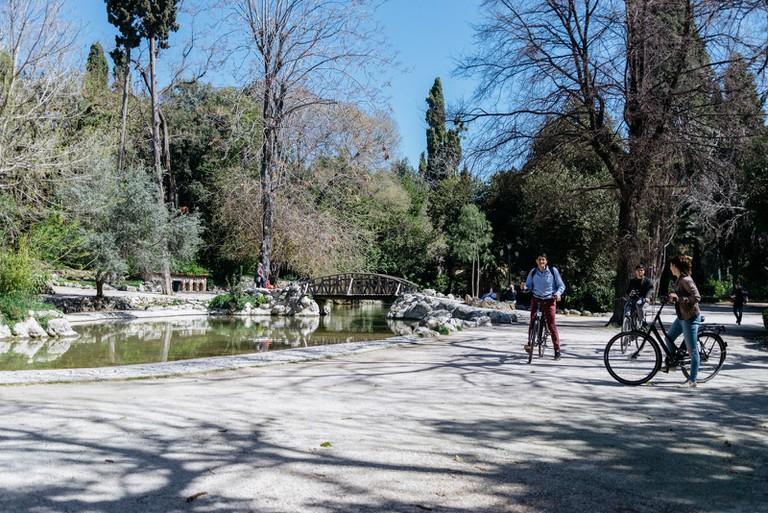 NATIONAL GARDEN-ATHENS-GREECE