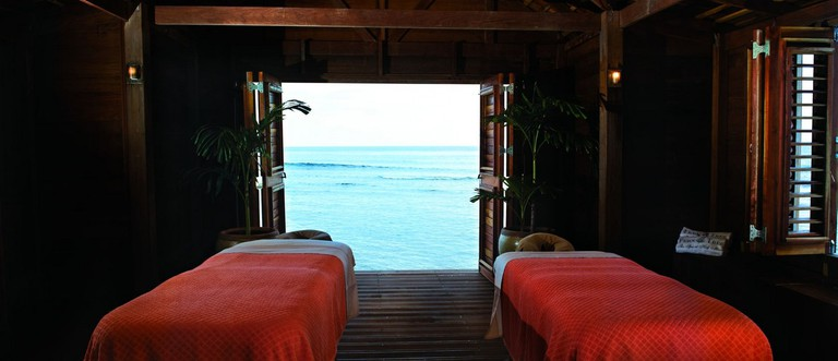 Seaside Interior | Courtesy of Fern Tree Spa, Rose Hall