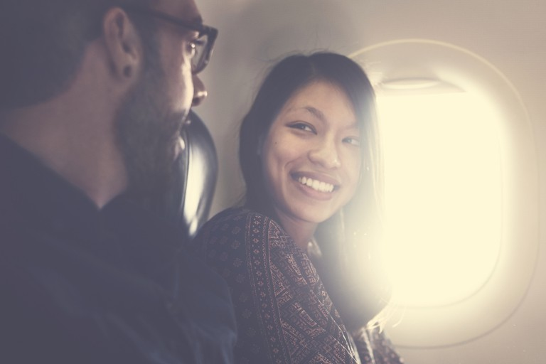 In flight conversations