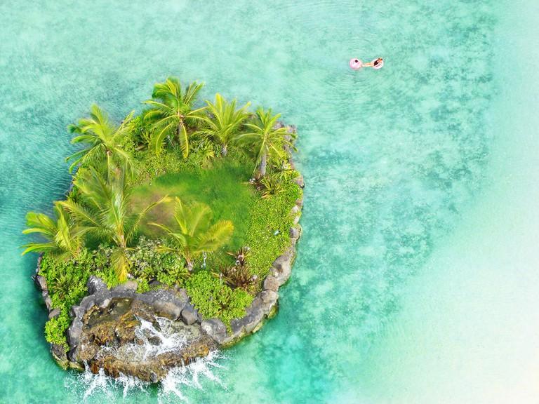 Small island, Honolulu | Public Domain/Pixabay