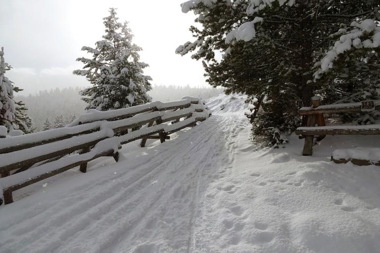 Snow trails | Public Domain/Pixabay