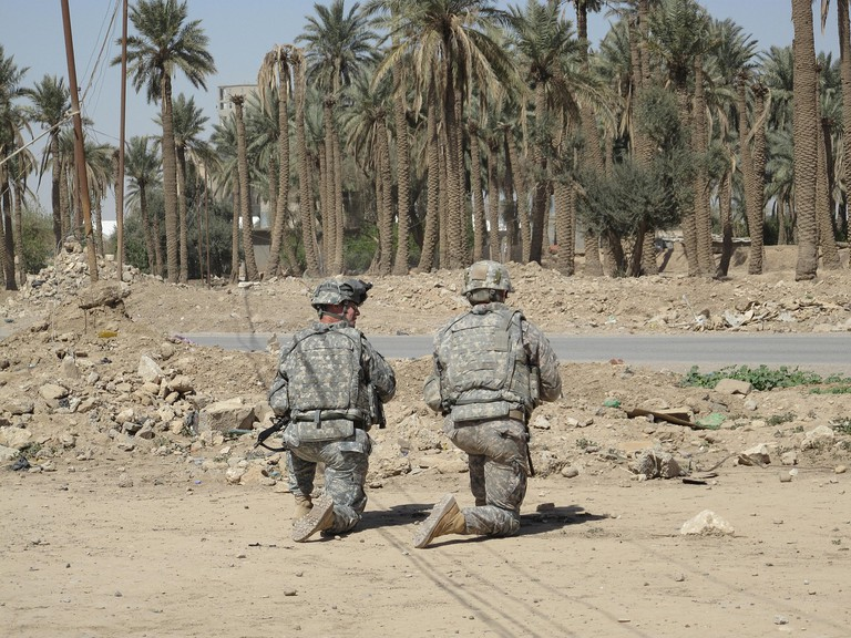 Soldiers in Iraq / Pixabay