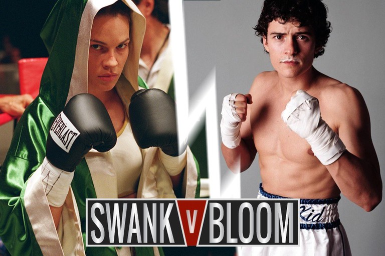 Hilary Swank in 'Million Dollar Baby' vs. Orlando Bloom in 'The Calcium Kid'