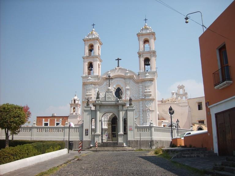 Parroquia de la Santa Cruz, Puebla | © Guzvel/WikiCommons