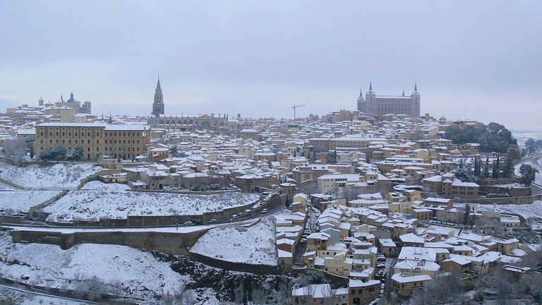 Toldeo, Spain in winter   ©CCPAPA / Pixabay
