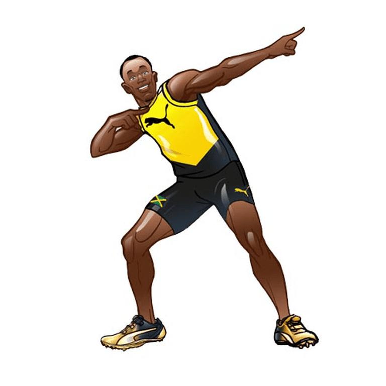 Usain Bolt emoji | Usain Bolt App