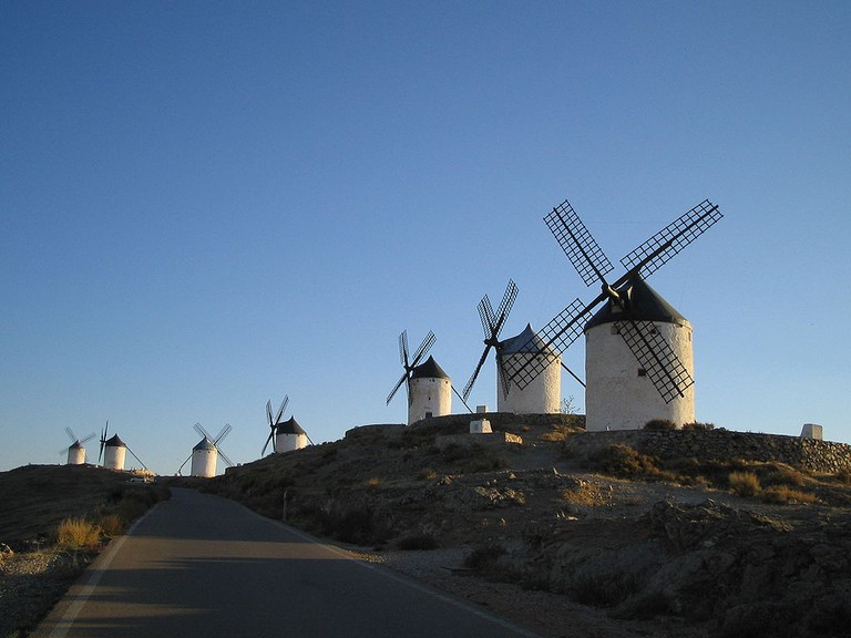 Windmills in Castilla-La Mancha, Spain