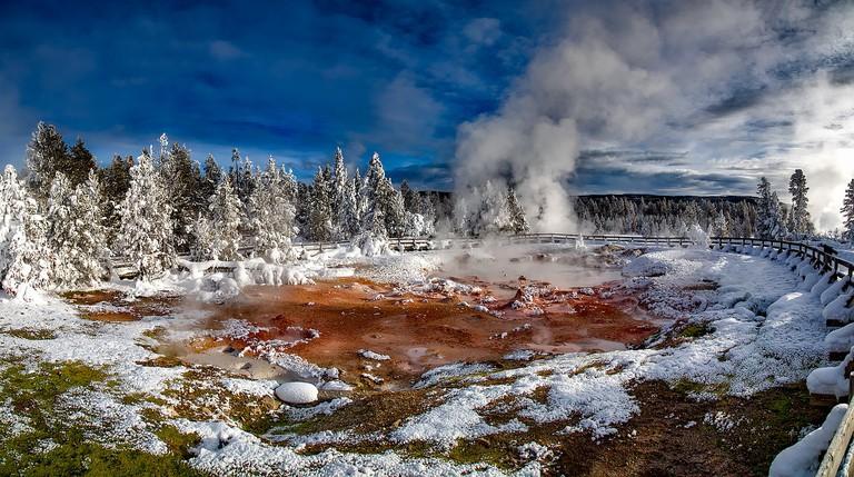 Hot springs in winter | Public Domain/Pixabay
