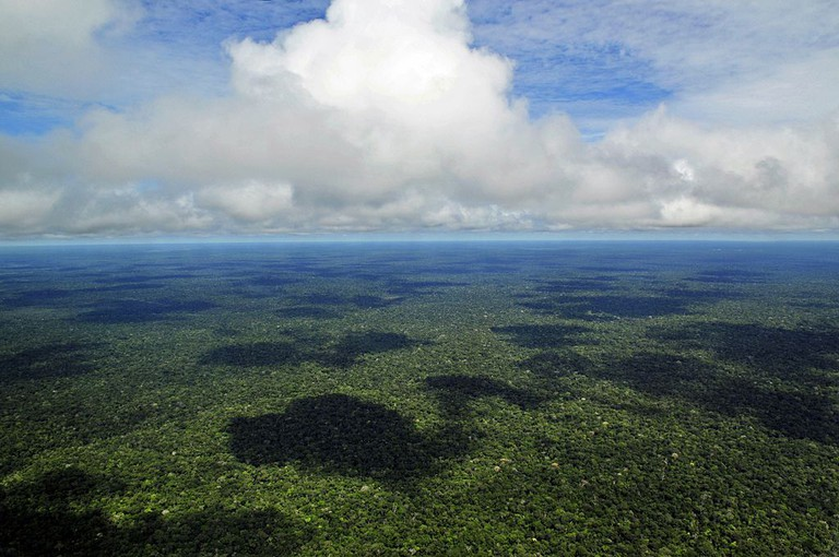 The Amazon rainforest is a big place |© Neil Palmer/WikiCommons