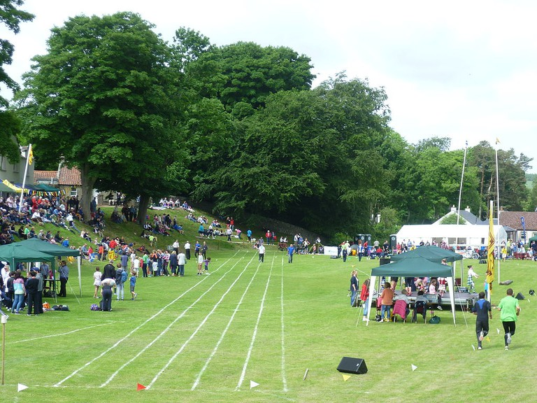 Ceres Highland Games | © WikiCommons